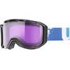 UVEX snowstrike stimu lens goggles violet/zwart